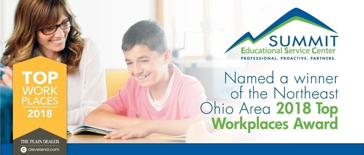 Summit ESC - Named a 2018 Northeast Ohio Top Workplace Award